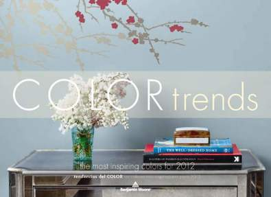 2012 Color Trends - Benjamin Moore